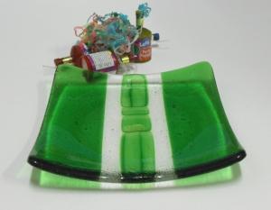 Sparkling Chlorophyll 20x20cm by jensstudio